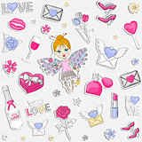 With Love pattern