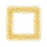 abstract, gold, sand, dust, glitter, frame, square