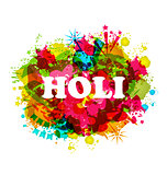 DJ party banner for Holi celebration