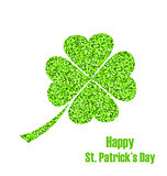 Shiny Twinkle Clover for St. Patricks Day