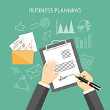 business planning concept