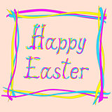 easter card with creative text