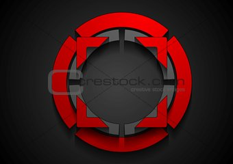 Abstract shape corporate logo