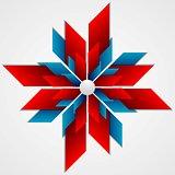 Abstract corporate logo vector design