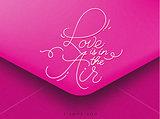 Valentines envelope pink