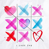 Love noughts and crosses game