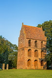 Bell tower of the Sankt Petri Church in Westerstede