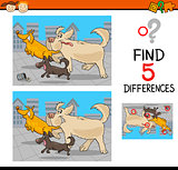differences educational game