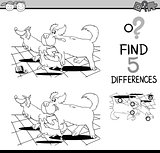 differences game for coloring