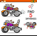 find the differences game