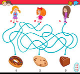 maze puzzle game for kids