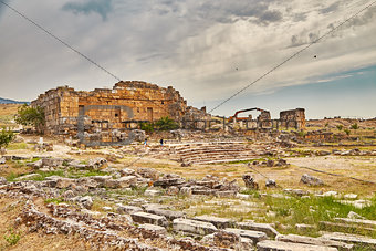 Ancient theater in Hierapolis
