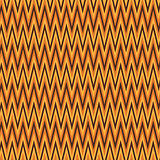 Zigzag abstract orange wrapping pattern