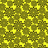 Pattern of black stylized gears