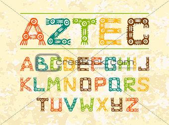 aztec_letters_5colours