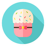 Easter Bakery Cake Circle Icon