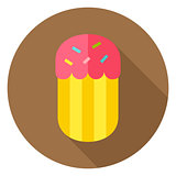 Easter Cake Bakery Circle Icon