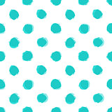 Seamless pattern with distressed dry brush dots