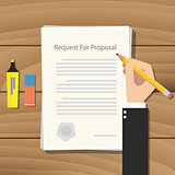 rfp request for proposal paper document