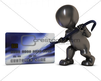 3D Morph Man and credit theft