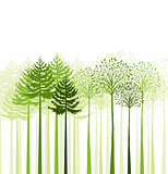 Vector mixed forest