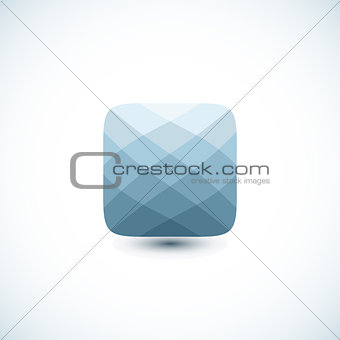Abstract geometric icon