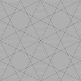 Seamless triangles and polygons pattern.