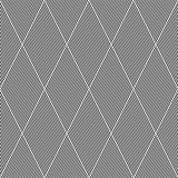 Striped diamonds pattern.