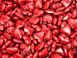 Many red hearts