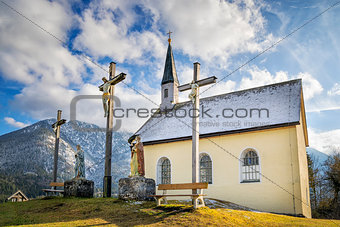 Chapel in Bavarian Alps