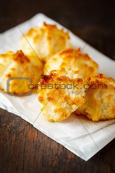 Fresh Baked Coconut Light Cookies