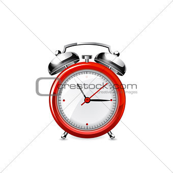 Alarm clock. Vector