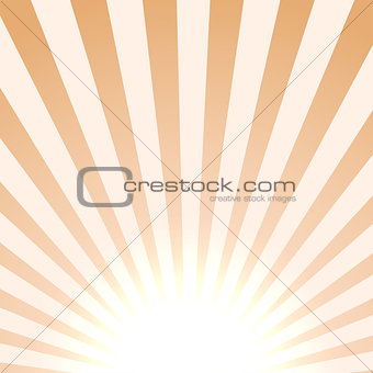 Bright sun background