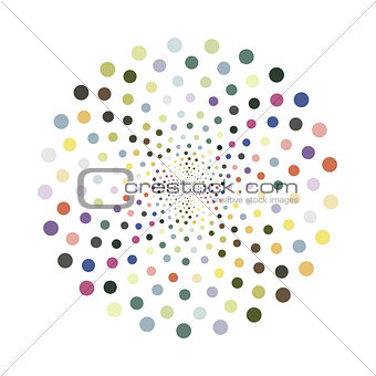Abstract colorful shape.Vector design element