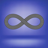 Striped Infinity Icon