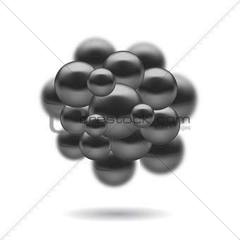 Molecules Spheres Icon