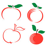 Set of Apple Icons