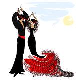 image of couple flamenco