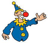 Funny blue goof