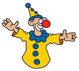 Funny yellow goof