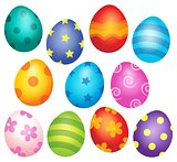 Decorated Easter eggs theme image 1