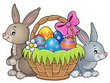 Easter basket theme image 3