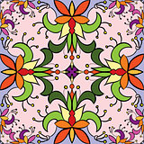 Seamless floral pattern background. Colorful.