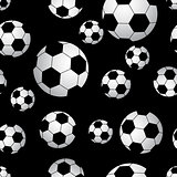 Seamless soccer ball