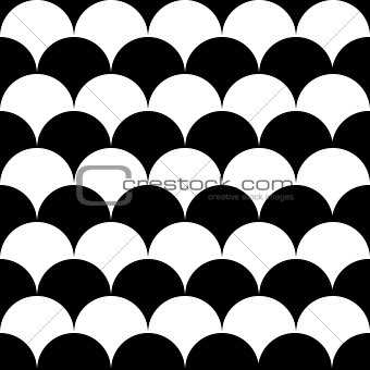 wave circle seamless