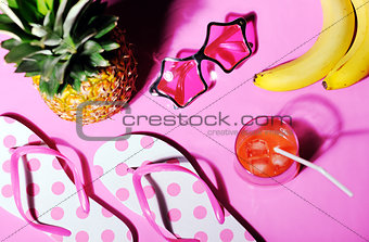 bright summer still life