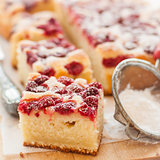 Raspberry and Yogurt Cake