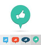 Social media icon.