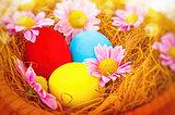 Beautiful Easter still life