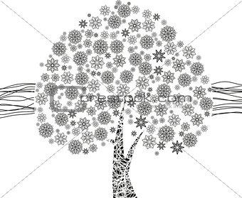 Black Leaf Tree